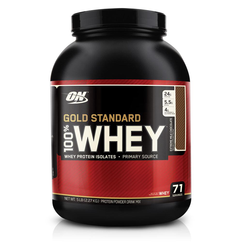 אבקת חלבון - WHEY GOLD STANDARD
